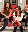 KEEP CALM AND LOVE LIARS - Personalised Poster A4 size