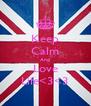 Keep Calm And Love Life<3<3 - Personalised Poster A4 size