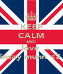 KEEP CALM AND love  linsay munn <3  - Personalised Poster A4 size