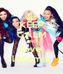 KEEP CALM AND love littlemix - Personalised Poster A4 size