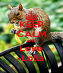KEEP CALM AND Love -Lolla - Personalised Poster A4 size