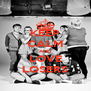 KEEP CALM AND LOVE LOSERS - Personalised Poster A4 size