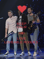 KEEP CALM AND LOVE  LOVEABLE ROGUES  - Personalised Poster A4 size