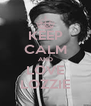 KEEP CALM AND LOVE LOZZIE - Personalised Poster A4 size