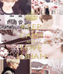 KEEP CALM AND LOVE LUHAN - Personalised Poster A4 size