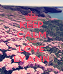 KEEP CALM AND LOVE LYANN - Personalised Poster A4 size