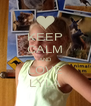 KEEP CALM AND LOVE LYLA - Personalised Poster A4 size