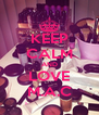 KEEP CALM AND LOVE M.A.C - Personalised Poster A4 size