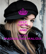 KEEP CALM AND LOVE MADDALENA MALIZIA - Personalised Poster A4 size