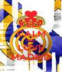 KEEP CALM AND LOVE MADRID - Personalised Poster A4 size