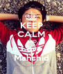 KEEP CALM AND Love Mahshid - Personalised Poster A4 size