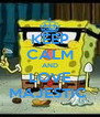 KEEP CALM AND LOVE MAJESTIC  - Personalised Poster A4 size