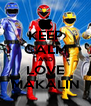 KEEP CALM AND LOVE MAKALIN - Personalised Poster A4 size