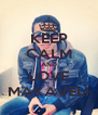 KEEP CALM AND LOVE MAKAVELI - Personalised Poster A4 size