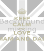 KEEP CALM AND LOVE MAM AND DAD - Personalised Poster A4 size