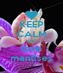 KEEP CALM AND love mantises - Personalised Poster A4 size