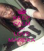 KEEP CALM AND LOVE MAREKA - Personalised Poster A4 size