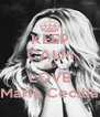 KEEP CALM and LOVE Maria Cecília - Personalised Poster A4 size