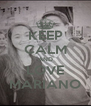 KEEP CALM AND LOVE MARIANO - Personalised Poster A4 size
