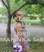 KEEP CALM AND LOVE MARINKA SnB - Personalised Poster A4 size