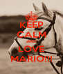 KEEP CALM AND LOVE MARIO!!! - Personalised Poster A4 size
