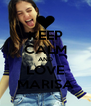 KEEP CALM AND LOVE MARISA - Personalised Poster A4 size