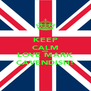KEEP CALM AND LOVE MARK CAVENDISH! - Personalised Poster A4 size
