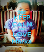 KEEP CALM AND LOVE Marka - Personalised Poster A4 size