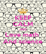 KEEP CALM AND Love math  And science - Personalised Poster A4 size