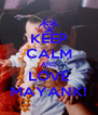 KEEP CALM AND LOVE MAYANK! - Personalised Poster A4 size