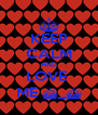 KEEP CALM AND LOVE  ME ^_^ - Personalised Poster A4 size