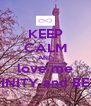 KEEP CALM AND love me To INFINITY and BEYOND - Personalised Poster A4 size
