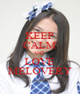 KEEP CALM AND  LOVE MELOVERY - Personalised Poster A4 size
