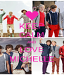 KEEP CALM AND LOVE MICHELLE - Personalised Poster A4 size