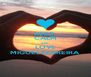 KEEP  CALM AND LOVE MIGUEL FERREIRA - Personalised Poster A4 size