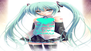 KEEP CALM AND LOVE MIKU - Personalised Poster A4 size