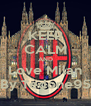 KEEP CALM AND Love Milan By Tedone95 - Personalised Poster A4 size