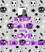 KEEP CALM AND LOVE MILDRED ROBINSON - Personalised Poster A4 size