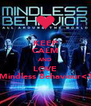 KEEP CALM AND LOVE Mindless Behaviour<3 - Personalised Poster A4 size