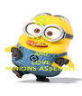 KEEP CALM AND LOVE MINIONS ASSEMBLE - Personalised Poster A4 size