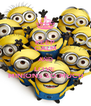 KEEP CALM AND LOVE  MINIONS SO MUCH - Personalised Poster A4 size