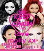 KEEP CALM AND love molly xx - Personalised Poster A4 size