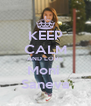 KEEP CALM AND LOVE Moni  Saneva - Personalised Poster A4 size