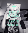 KEEP CALM AND LOVE MONRO - Personalised Poster A4 size