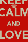 KEEP CALM AND LOVE Mr.RIDDLES - Personalised Poster A4 size