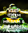 KEEP CALM AND love MR.SAM & green bay - Personalised Poster A4 size