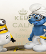 KEEP CALM AND love m&s - Personalised Poster A4 size