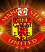 KEEP CALM AND LOVE MU - Personalised Poster A4 size