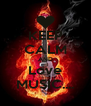 KEEP CALM AND Love MUSIC.... - Personalised Poster A4 size