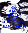 KEEP CALM AND LOVE MY  BOCCHAN - Personalised Poster A4 size